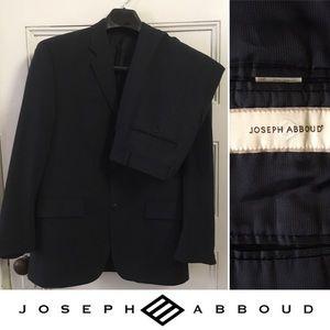 Joseph Abboud suit navy blue 36
